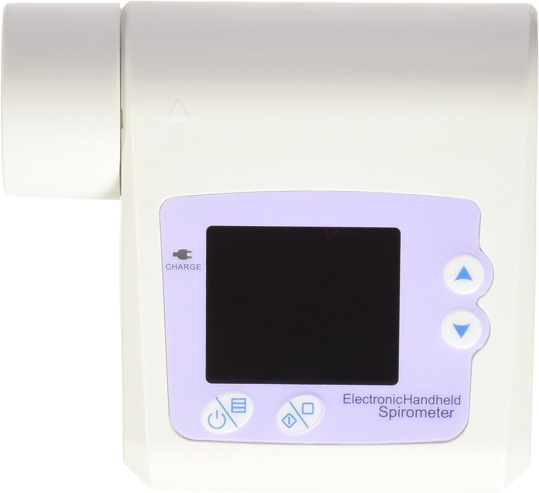 Contec - Espirómetro de diagnóstico SP10 con pantalla a color y software para PC - Portátil