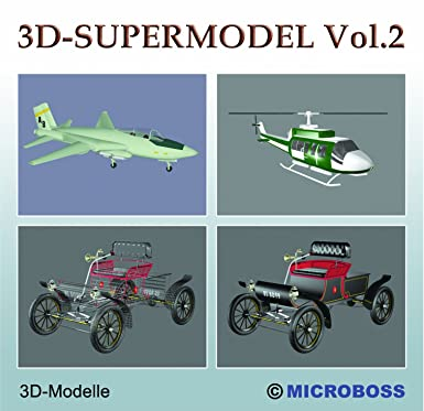 Microboss 3D-Supermodel Vol2 - professional 3D-Models for 3D