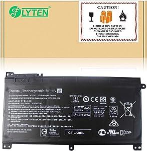 FLYTEN BI03XL Battery for HP Pavilion X360 13-u m3-u Stream 14-ax Laptop ON03XL 0N03XL BIO3XL HSTNN-UB6W HSTNN-LB7P TPN-W118 843537-541 844203-850 844203-855 915486-855 915230-541