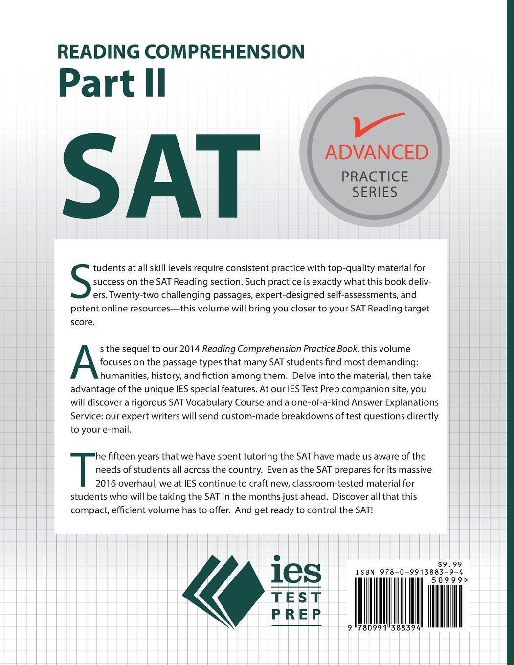 sat reading comprehension part ii accelerated practice advanced