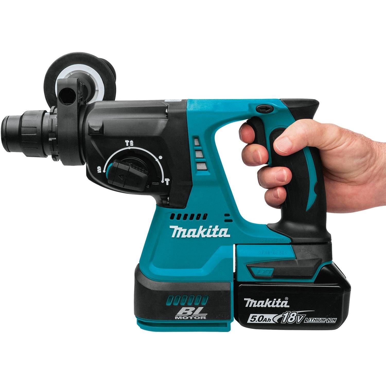 Makita 18V Cordless Brushless Combination Rotary Hammer