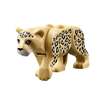 LEGO Leopard Minifigure from Jungle Theme (New for 2020): Toys & Games