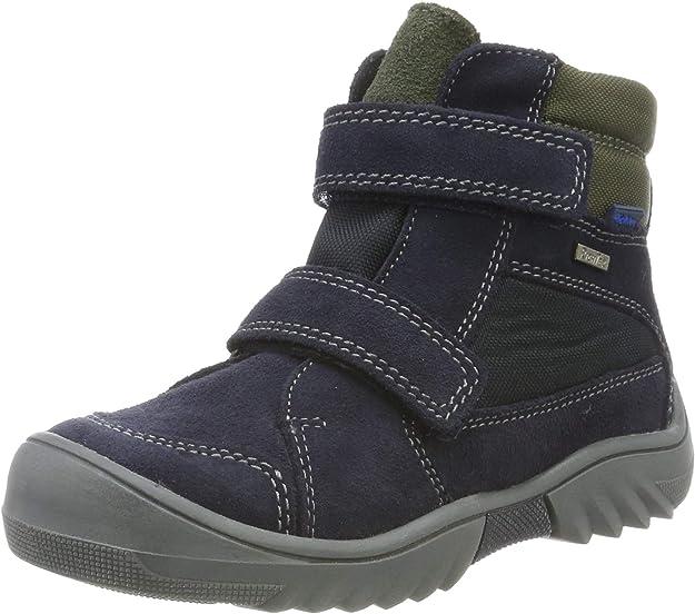 Richter Kinderschuhe Boys' Flick Snow Boots, Blue (Atlantic/Birch 7201), 6 UK,Richter Kinderschuhe,Flick 1531-641