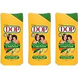 Dop - Shampooing 3 en 1 à l'Huile d'Olive Pour Cheveux Metisses/Crépus/Naturels Ou Défrises - 400 ml - Lot de 3