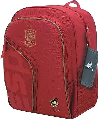 Selección Española La Roja Mochila Tipo Casual, 41 cm, Rojo ...