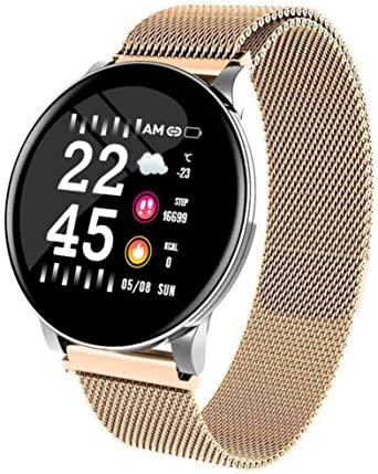 W8 Smart Woman Watch Ladies Weather Forecast Fitness Fitness Tracker Monitor de Ritmo cardíaco Smartwatch Android ...