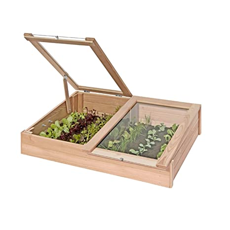 Semillero, cajonera para cultivo de madera de alerce, mini ...