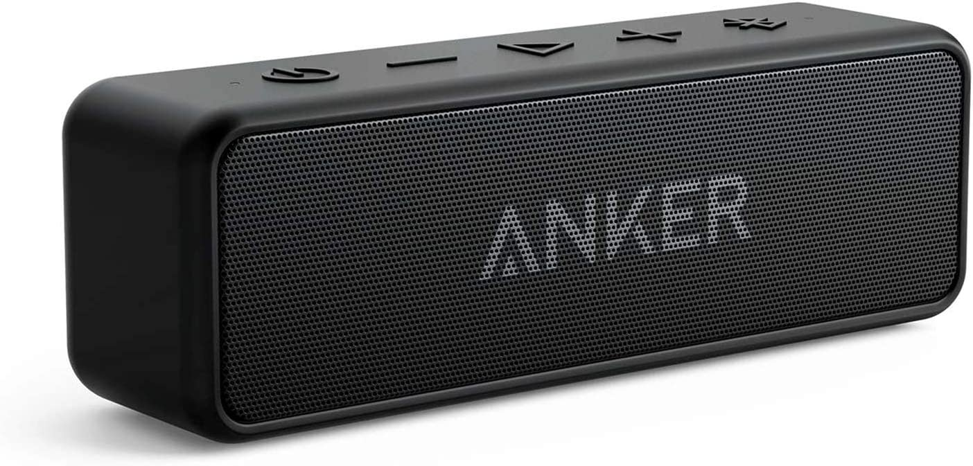 Renewed Anker Soundcore 2 Portable Bluetooth Speaker with 12W Stereo Sound