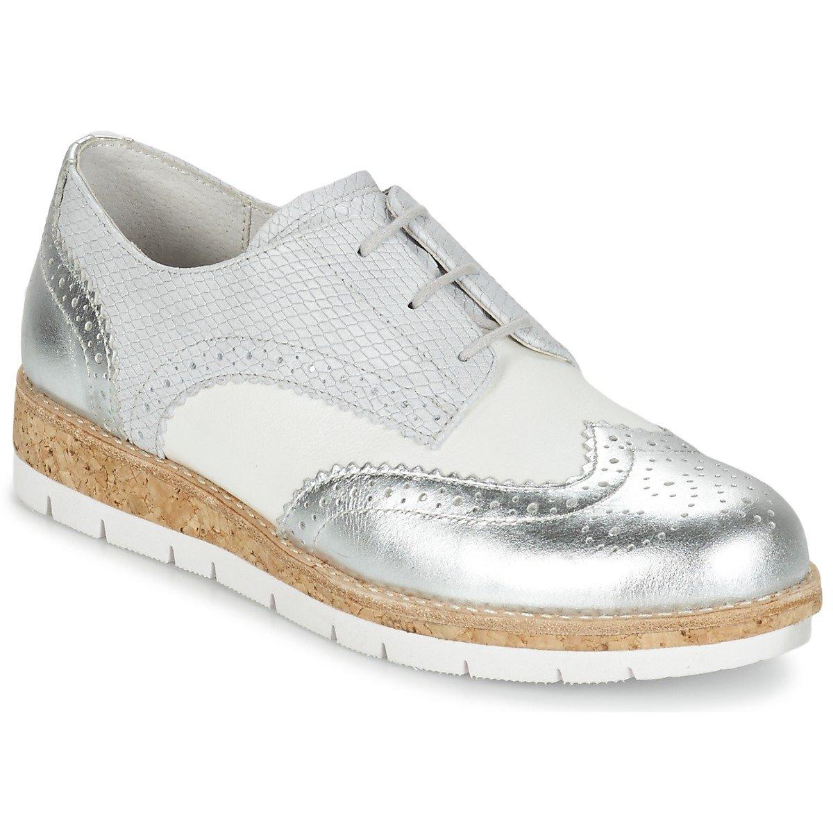 Gabor 62.558.90 - Zapatos de cordones para mujer 39 EU|Off-Withe