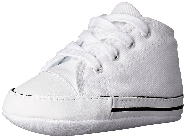 Converse Chuck Taylor First Star Canvas, Pantofole Unisex-Bimbi, Bianco (White 100), 19 EU 88877