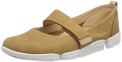 01f4b84016a70 Clarks Women s Tri Carrie Ballet Flats  Amazon.co.uk  Shoes   Bags