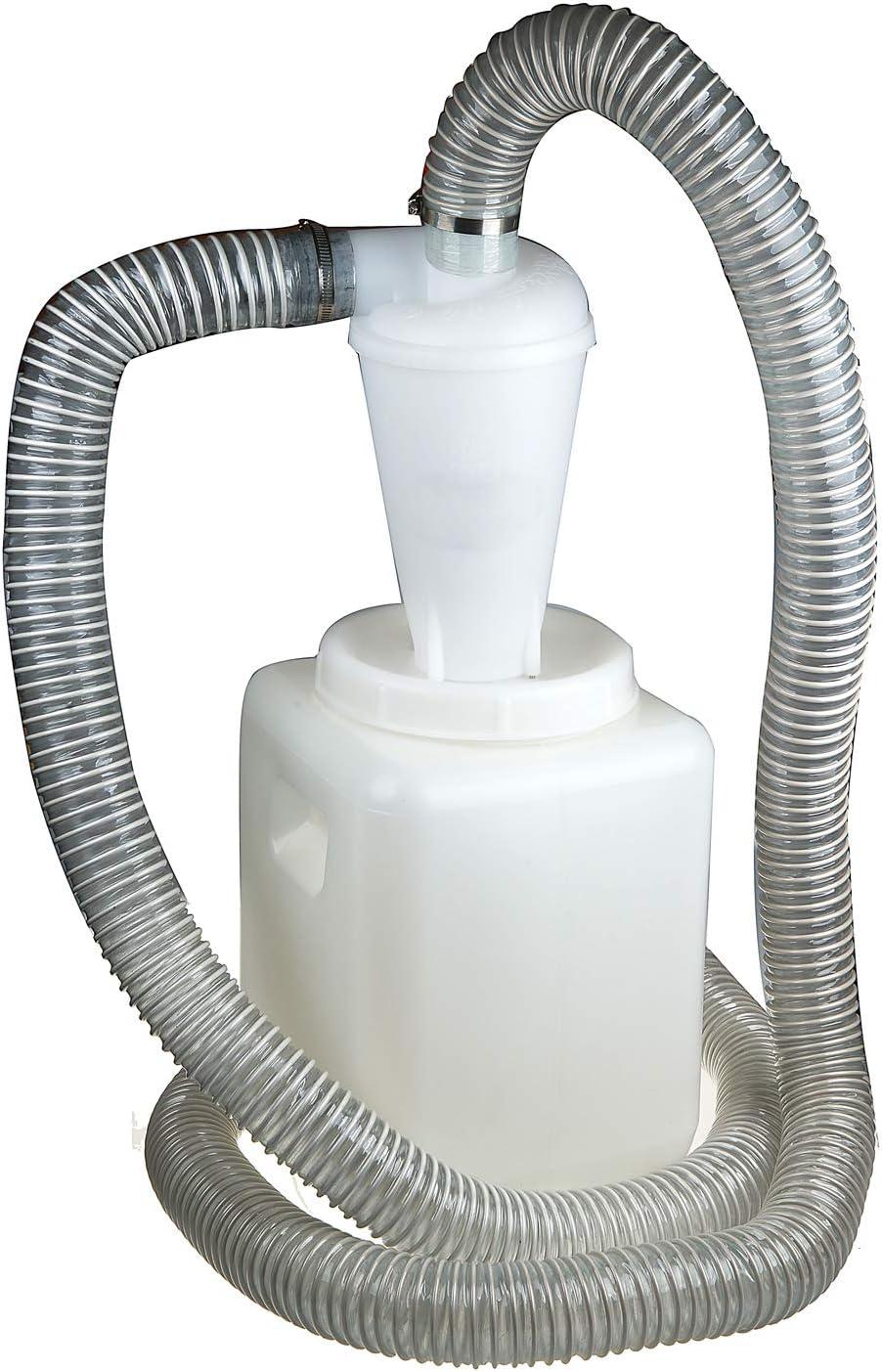 Vinteky - Separador de Filtro de ciclón para Aspirador y ciclón Industrial (Cubo de 20 L): Amazon.es: Jardín