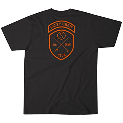 Salty Crew Men's Quiver Tee, Black, Small: Clothing