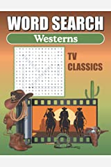 TV Westerns Word Search: Word Find Puzzle Book For Adults Paperback