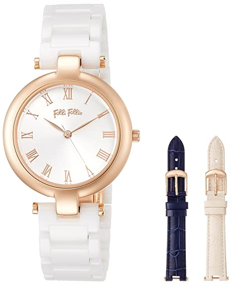 [Folli Follie] Folli Follie Classy Twist 3 Color cambiador Bull Reloj (blanco) wf16r030bpz-xx Ladies [Regular importados]: Amazon.es: Relojes