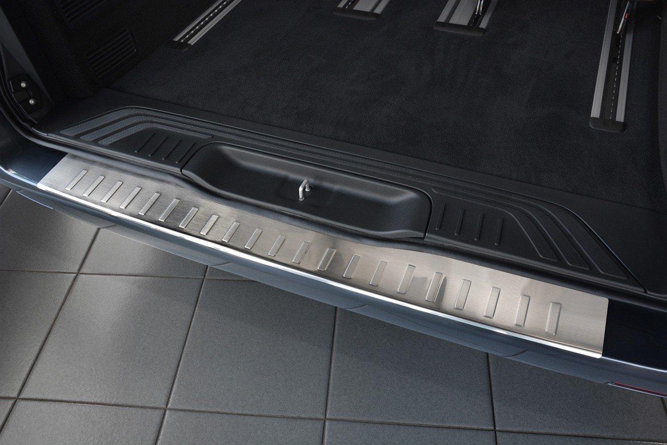 tuning-art EX111-L105 Inoxydable Protection des seuils de Chargement de Coffre et de Porte de Voiture en Acier