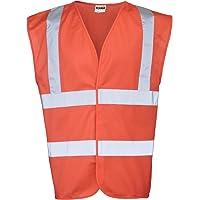 RTY Enhanced Vis Unisex Hi/Enhanced Visibility Safetywear Vest Top