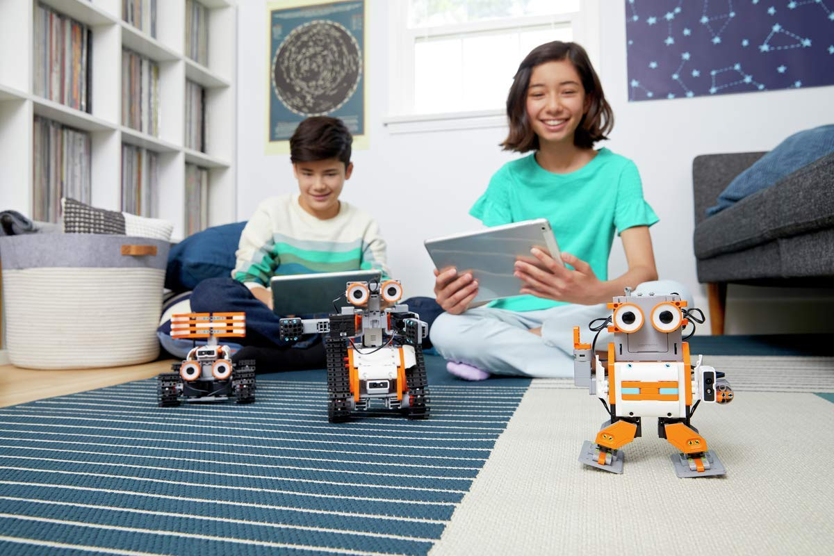 UBTECH JIMU Robot Astrobot Series: Cosmos Kit / App-Enabled Building and Coding STEM Learning Kit (387 Parts and Connectors) by UBTECH (Image #8)