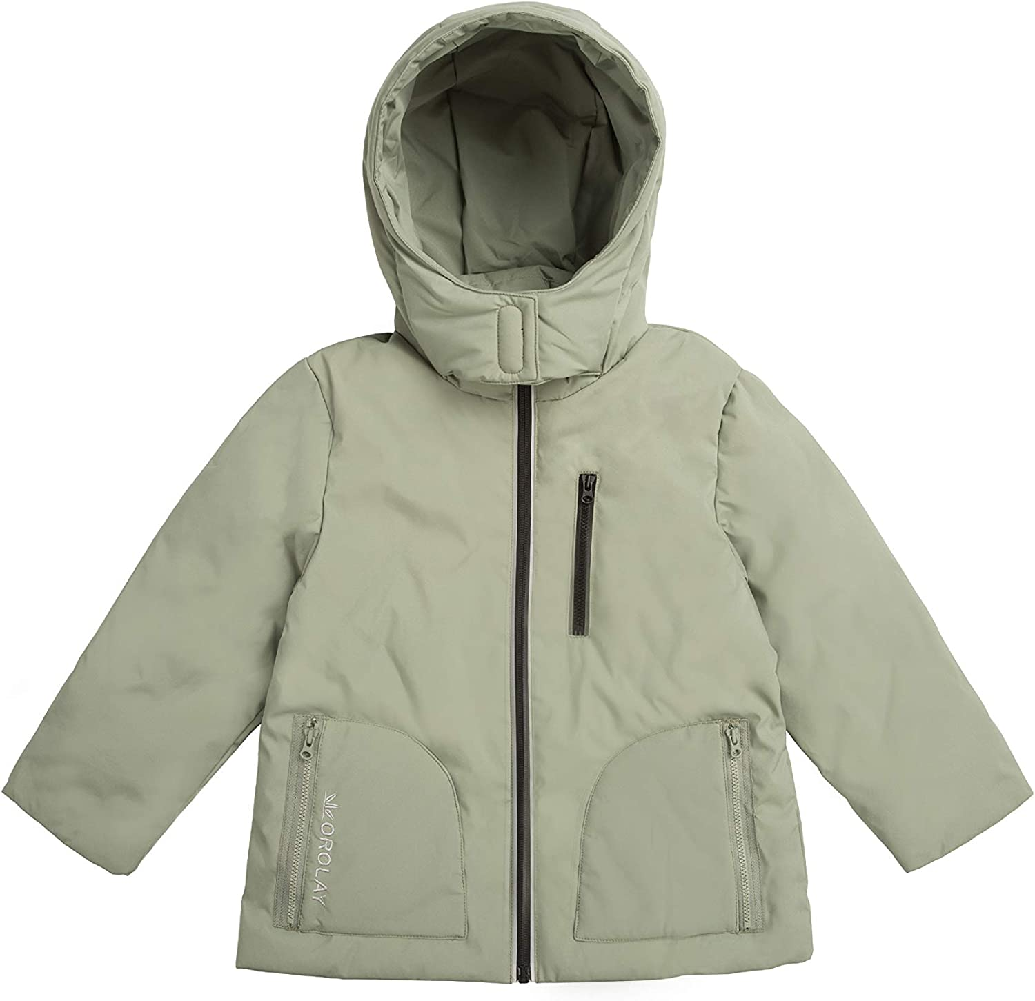 Orolay Girls Light Hooded Winter Down Coat Boys Stand Collar Puffer Jacket