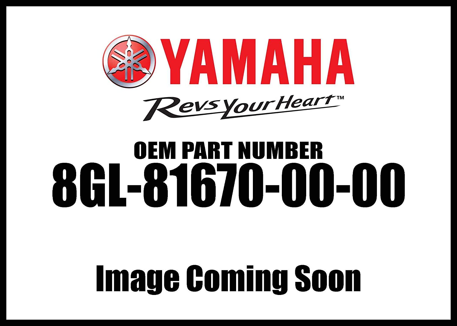 New Yamaha OEM 8GL-81670-00-00 PICK-UP ASSY 8GL816700000