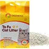 GREENENQI Fast-Clumping Multi-Cat Litter Flushable Litter Unscented and No Dust Pellets