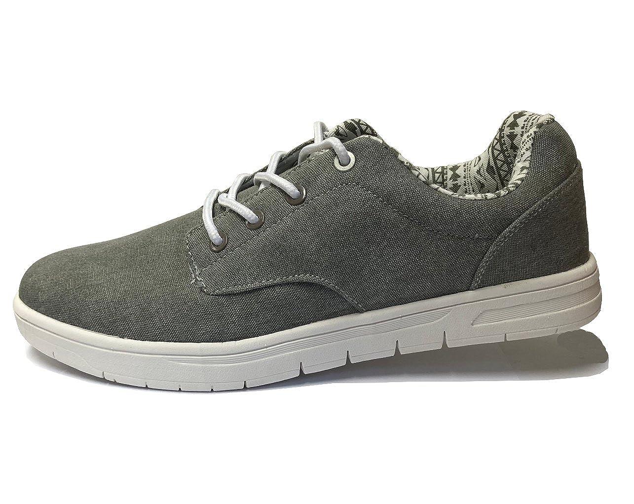 Young Spirit BBT Herrenschuhe Sneaker Schuhe Halbschuhe Freizeitschuhe Turnschuhe SchnürerFarbe: Dunkel GrauWählen Sie Die Schuhgröße!