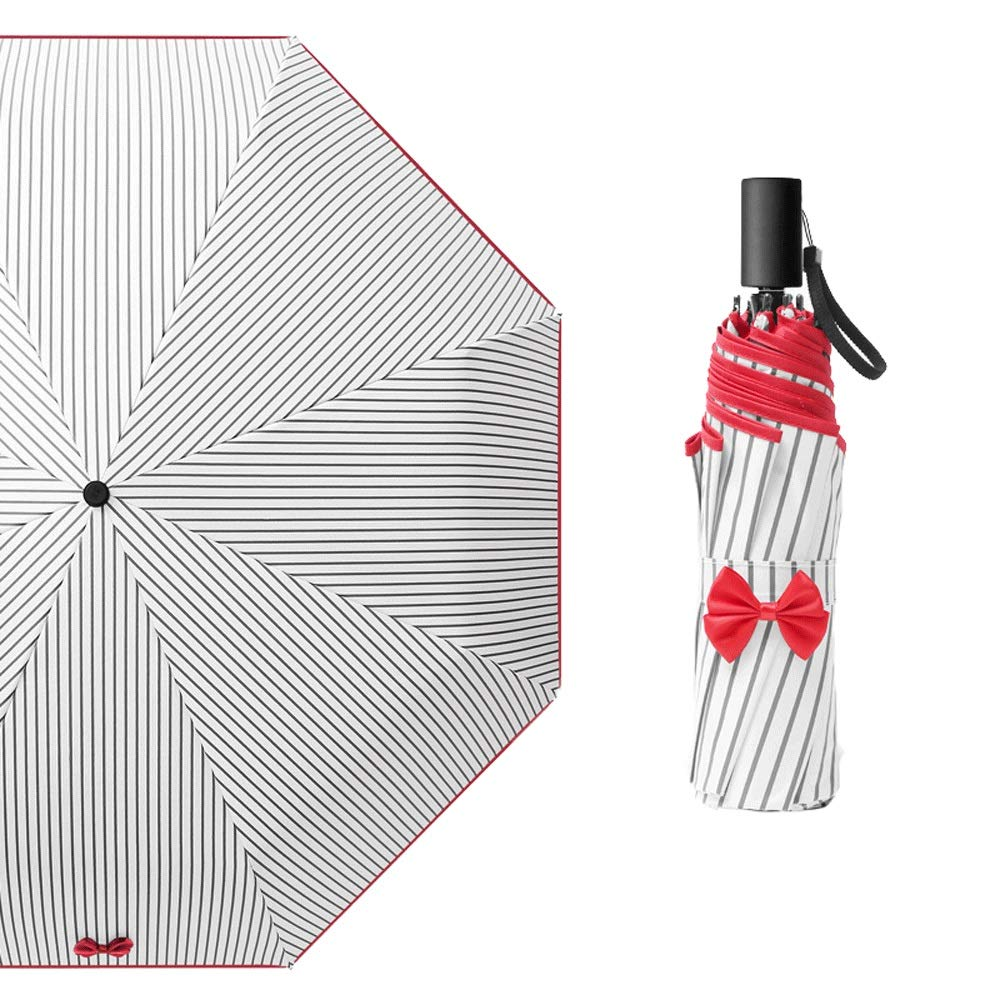Classic Quality Windproof Handle Umbrella,Automatic Opening Golf Umbrella,Automatically Open and Close Quick Release Compact (Color : Red) by AZZ