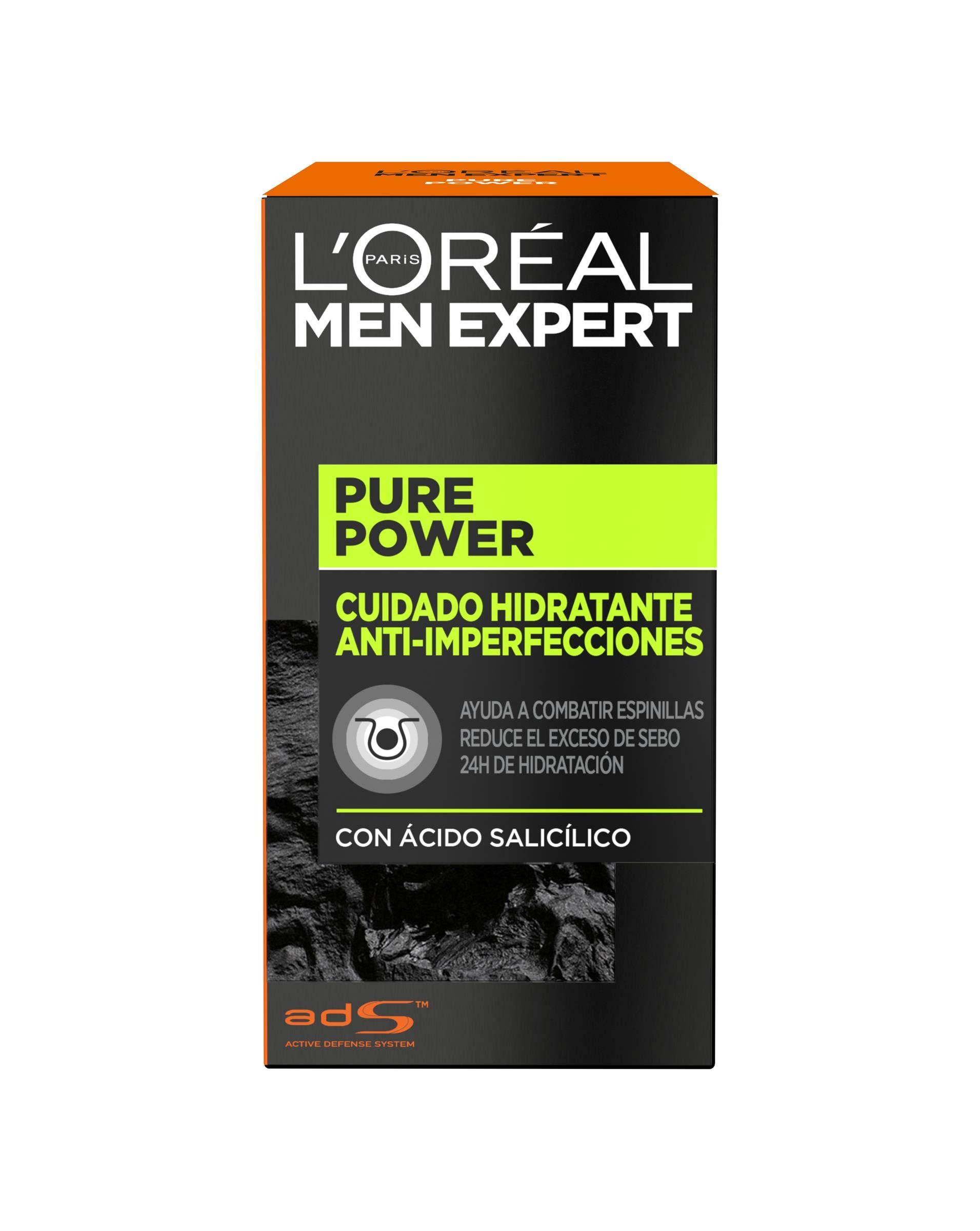 LOréal Paris Men Expert Pure Power Crema hidratante para hombre 50 ml product image