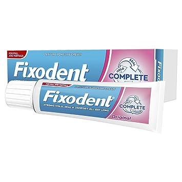 Fixodent Complete Original Denture Adhesive Cream, 47 g - Pack of 6