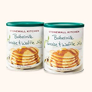 Stonewall Kitchen Buttermilk Pancake & Waffle Mix (2 Pack - 16 Ounces)
