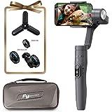 Cadran Feiyu Vimble 2, 3 Axes extensibles pour iPhone X / 8 / 7 Plus, HUAWEI, Samsung, Suivi d'objet, Time Lapse Dynamique avec l'appareil photo du téléphone, Gris