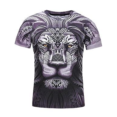 AIMEE7 Camisetas De Hombre Estampadas Verano Camisetas Frikis Hombre Camisetas Hombre Manga Corta Basica Camisetas Element Hombre Camisas Hombre Manga Corta ...