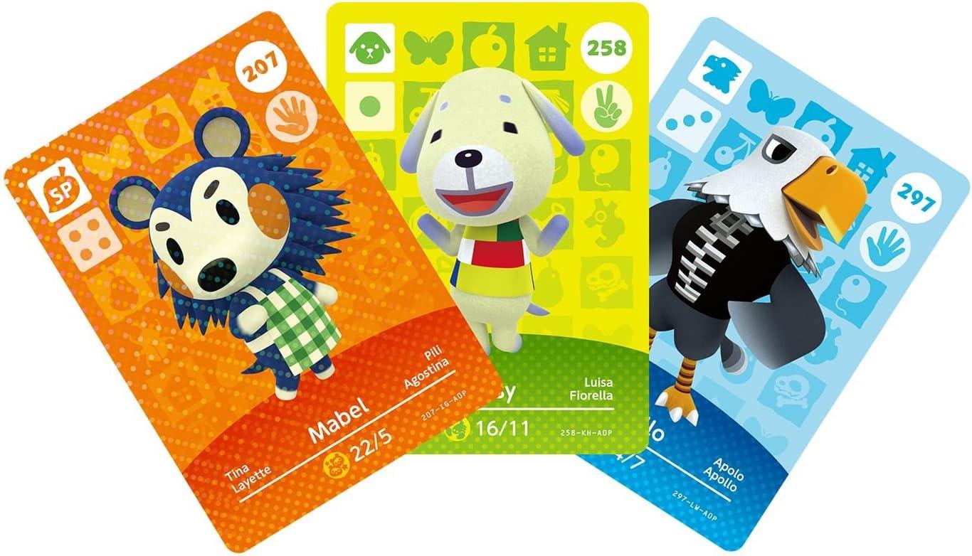 3 tarjetas Amiibo