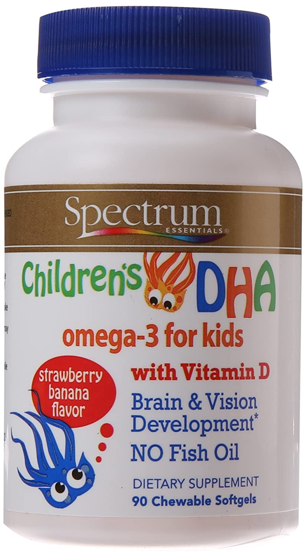 Chewable omega 3 for kids kids matttroy for Spectrum fish oil