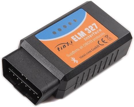 ELM327 Bluetooth OBD2 OBDII Auto Diagnose KFZ Testgerät für Android PC V2.1