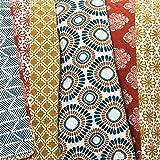 Lush Décor Bohemian Striped Quilt Reversible 3