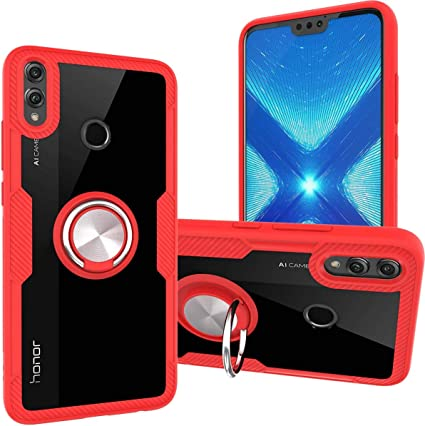 Coque honor 8x rouge