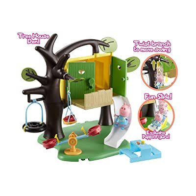 Peppa Pig Tree House Playset: Toys & Games