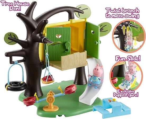 Character Options Peppa Pig - Juego de casa del árbol: Amazon.es: Juguetes y juegos