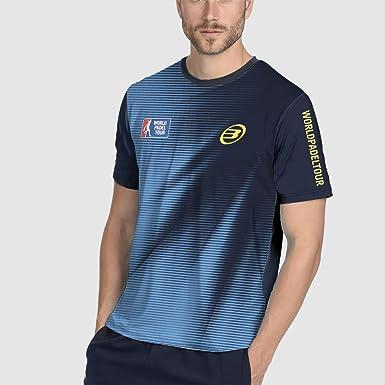 Bull padel Zambe Camiseta, Hombre, Azul (424), L: Amazon.es: Ropa ...