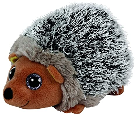 Ty Beanie Babies Spike The Brown Hedgehog Plush