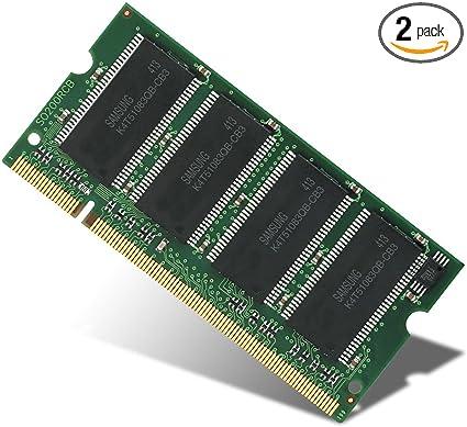 2GB 2x1GB RAM Memory DDR2 • Dell Latitude D531