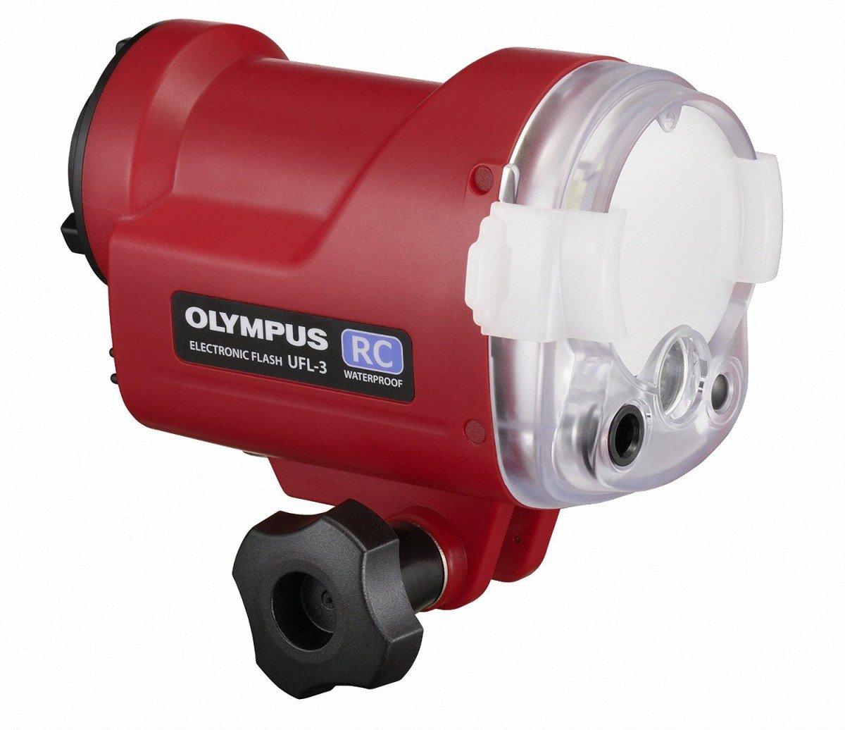OLYMPUS 水中専用フラッシュ ガイドナンバー22 高速チャージ UFL-3   B00MVOVF9I