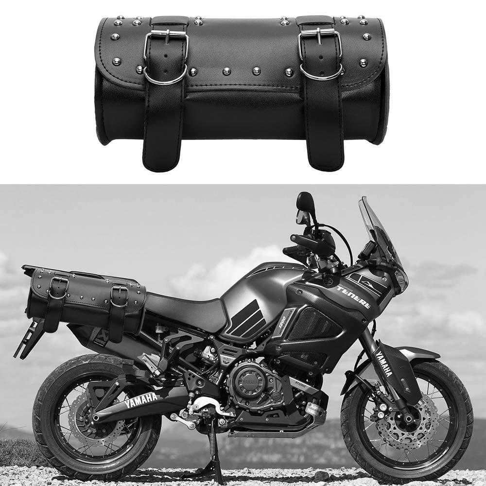 Motorrad Satteltasche Motorrad Rucksack passend f/ür Harley Rambler Aufbewahrungstasche PU Ledertasche
