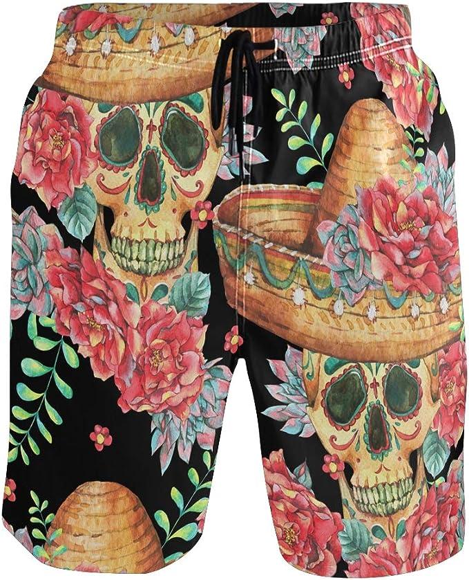 Acheter maillot de bain homme tête de mort online 1