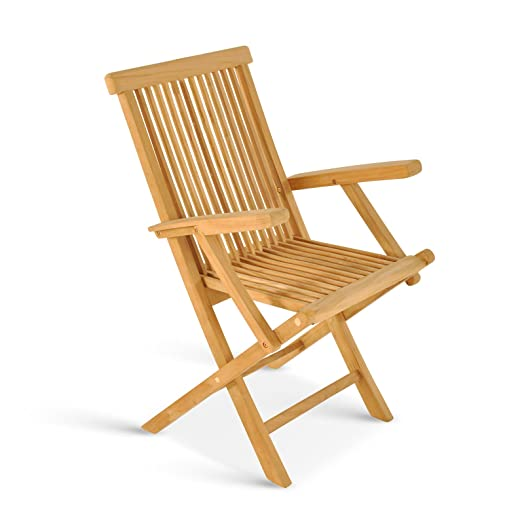 Teakholzmöbel patina  Sam® Mallorca, Garden Furniture Teak Wood Garden Chair, Folding ...