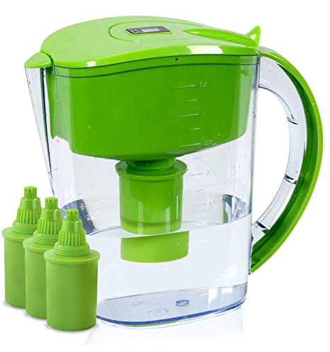 BU-KO Jarra de Agua alcalina DE 3,5 litros, Ionizador de Agua Pura ...