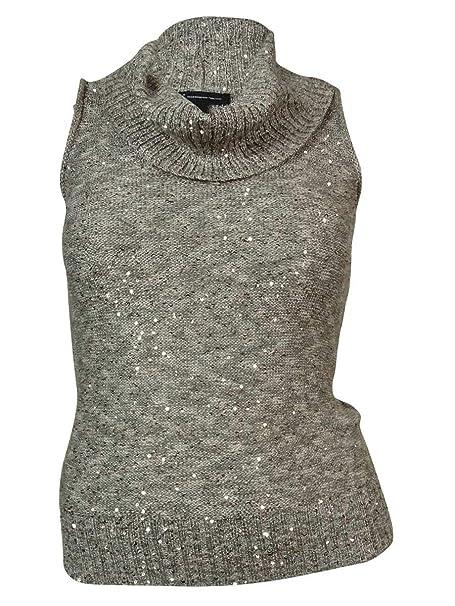 7de19fbc8c7b6 INC International Concepts Women s Cowl Sequined Knit Top (M