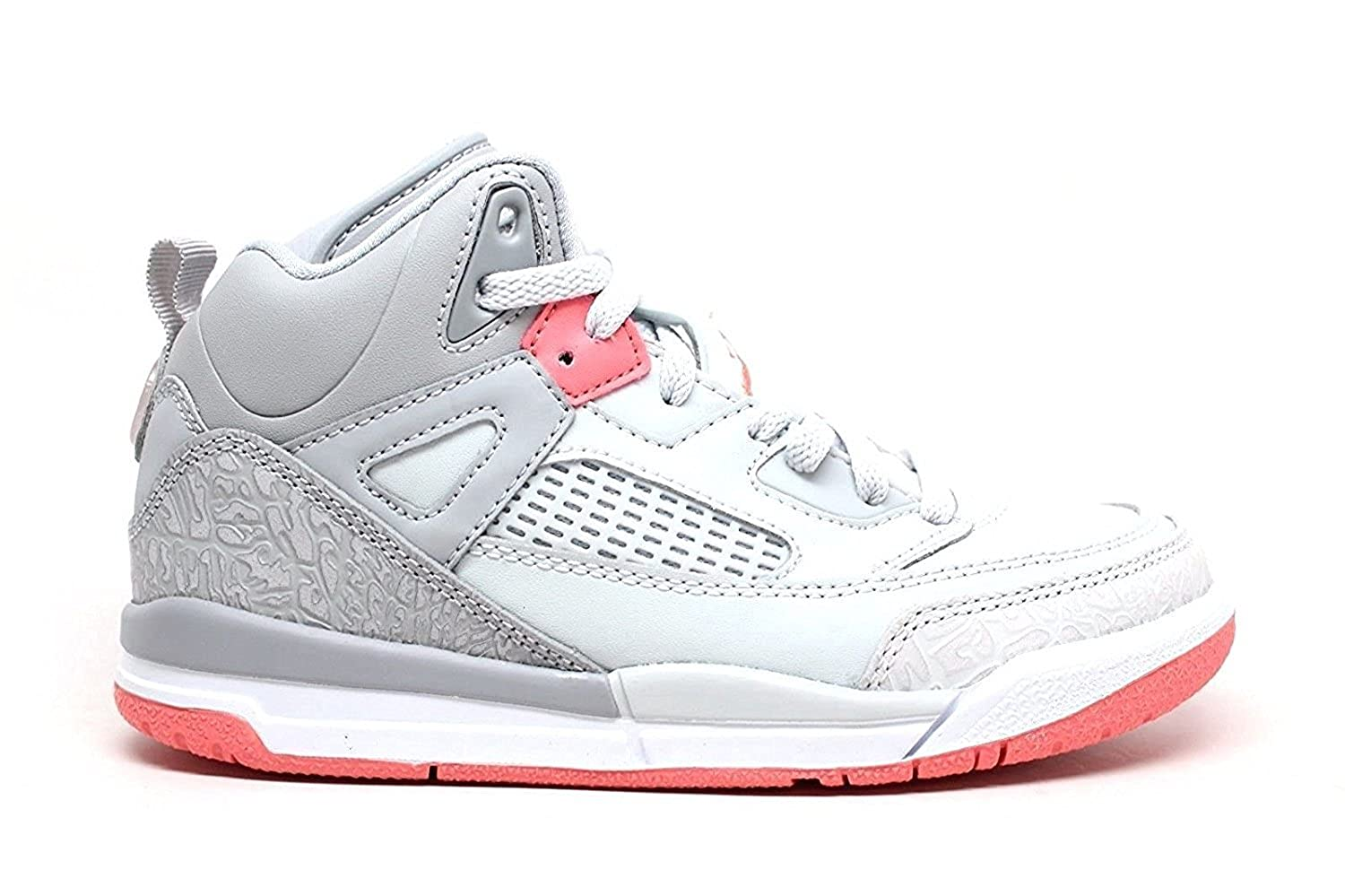 the latest 23895 1c8c6 Jordan Spizike Wolf Grey/Sun Blush (Little Kid) (11 M US Little Kid)