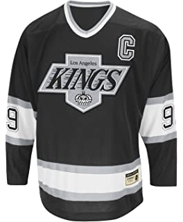 84b2182e3 adidas Wayne Gretzky Los Angeles Kings CCM Heroes of Hockey Authentic Black  Jersey
